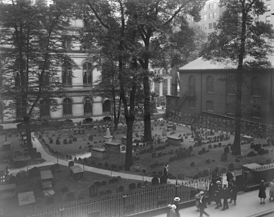 Boston's Historic Burying Grounds