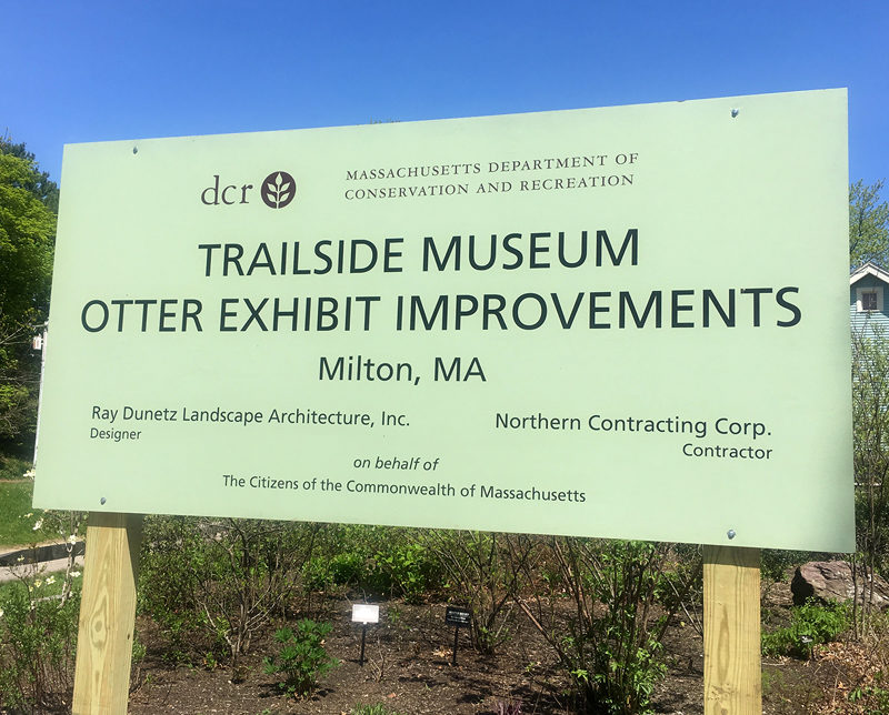 TRAILSIDE MUSEUM OTTER EXHIBIT